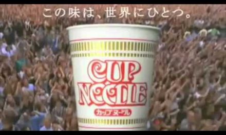 Bon Jovi in Japanese Cup Noodle Funny Commercial