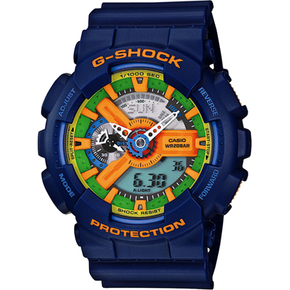 Casio G-Shock Crazy Colors Watches