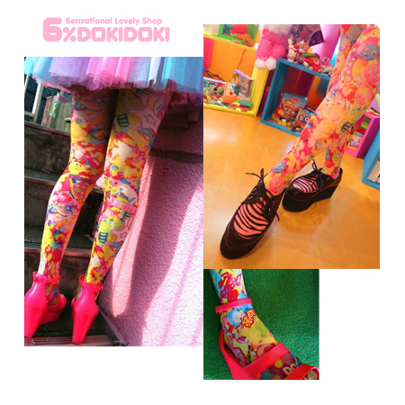 6% Dokidoki Colorful Rebellion Tights