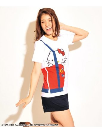 Graniph Hello Kitty Tote T-Shirt