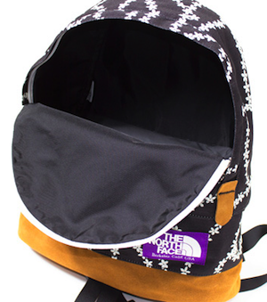 Buy The North Face Purple Label Flower Lace Print Backpack