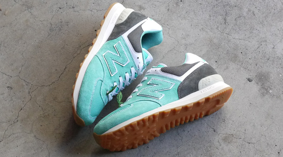 Buy Mita Sneakers x Oshman's New Balance ML574 Mojito Sneakers