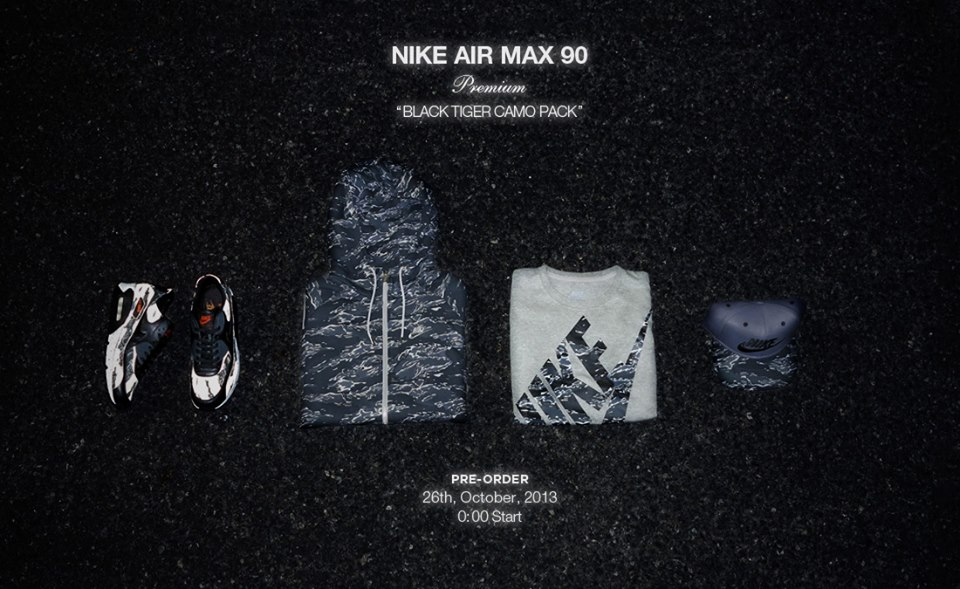 Nike Air Max Black Tiger Camo Atmos Exclusive