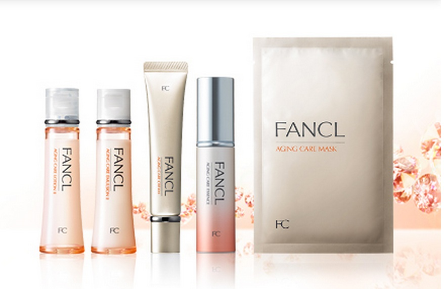 Fancl's Additive-Free Anti-Aging Line