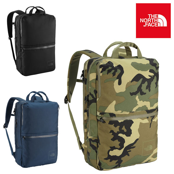 The North Face Shuttle Daypack Camo and Cosmic Blue Edition
