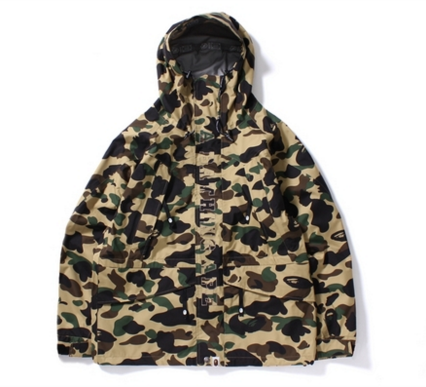 Bape Gore-Tex 1st Camo Snow Board Jacket
