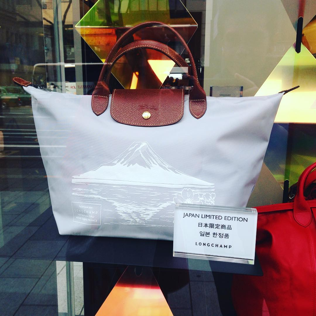 New Longchamp Japan-Only Le Pliage Bags