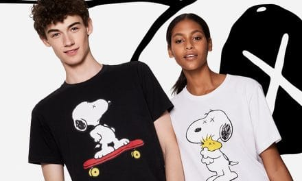Snoopy and Woodstock Meet Pop Artist Kaws