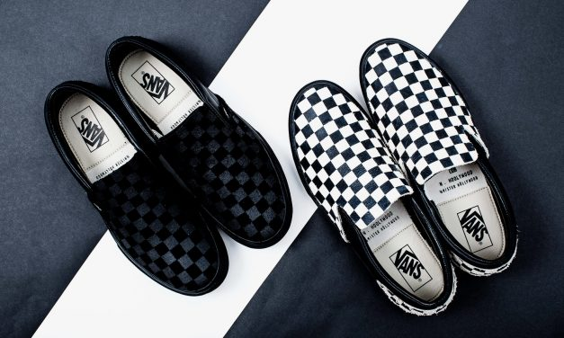 N. Hoolywood x Vans Slip-On Sneakers