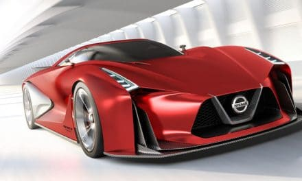A 3D Model of Nissan's GTR Gran Turismo Car