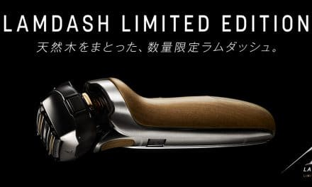 Panasonic Releases Limited Edition Natural Wood-Paneled Shaver