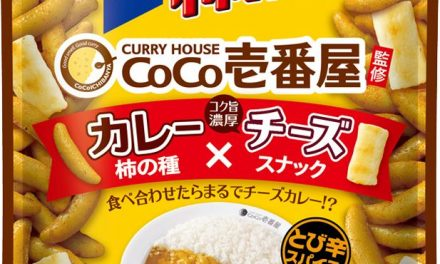 Coco Ichi Curry and Cheese Snacks