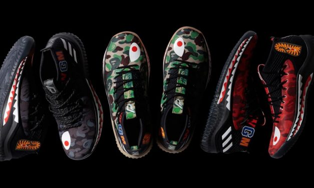 Damian Lillard Designs for Adidas x A Bathing Ape