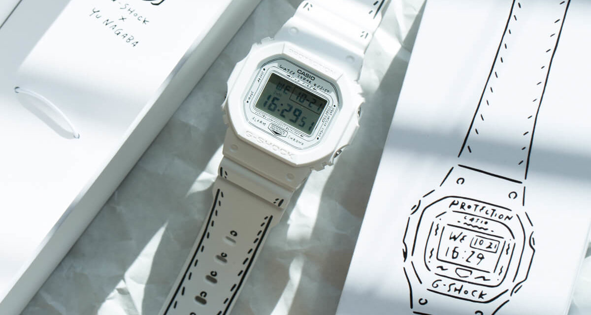 G-Shock Collaborates with Yu Nagaba on Have a Nice Day Watch