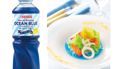 Ocean Blue: the Perfectly Instagrammable Salad Dressing