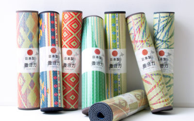 A Traditional Japanese Take on the Yoga Mat