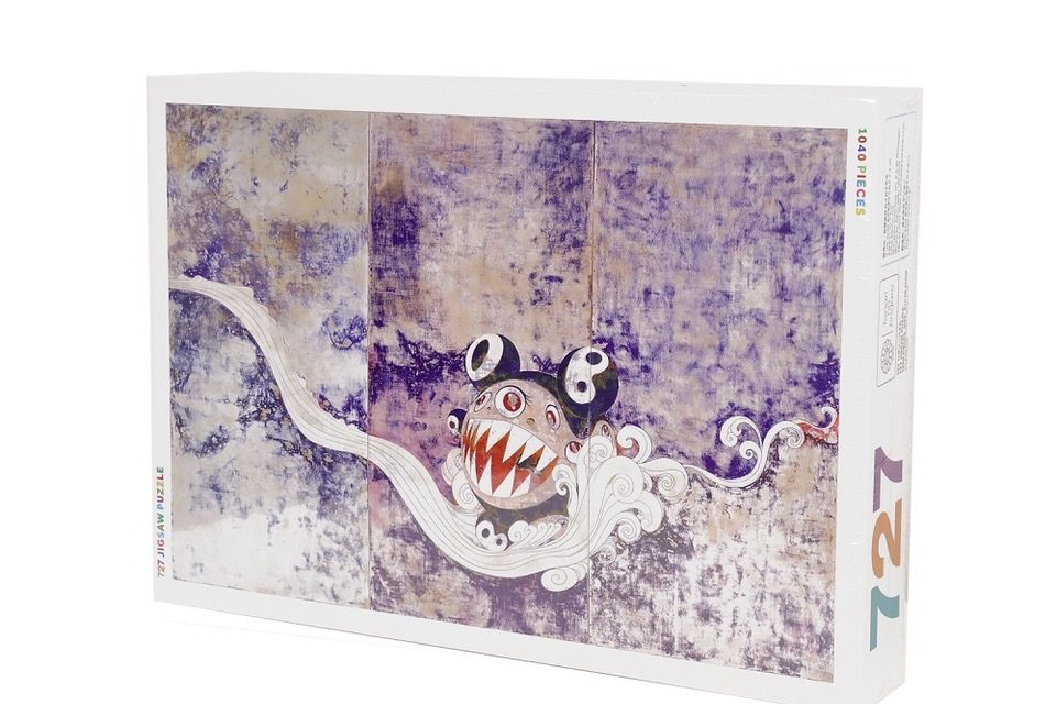 Pass the Time at Home with a Takashi Murakami Jigsaw Puzzle