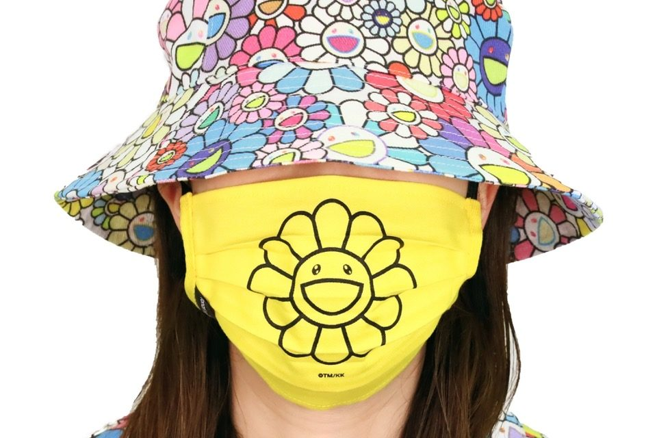 Stay Safe with an Exclusive Takashi Murakami Face Mask